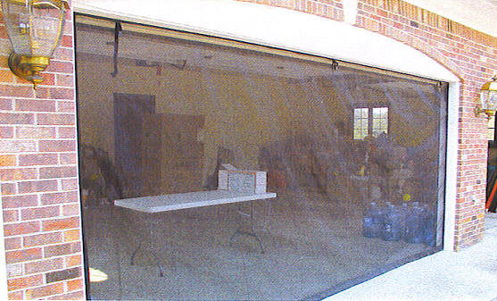 16 39 x 7 39 zip roll screen for Roll up screen door for garage